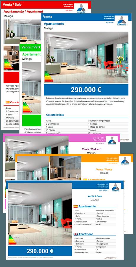 cartelería software inmobiliario