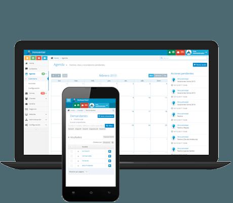 software inmobiliaria gestion contactos con tareas